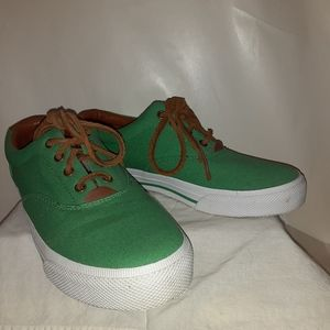 Lauren  Ralph  Lauren Canvas  Sneakers Like New